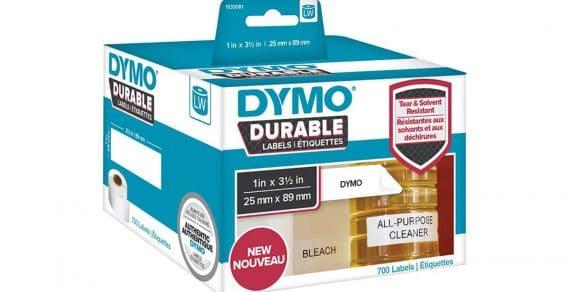 Les étiquettes DYMO